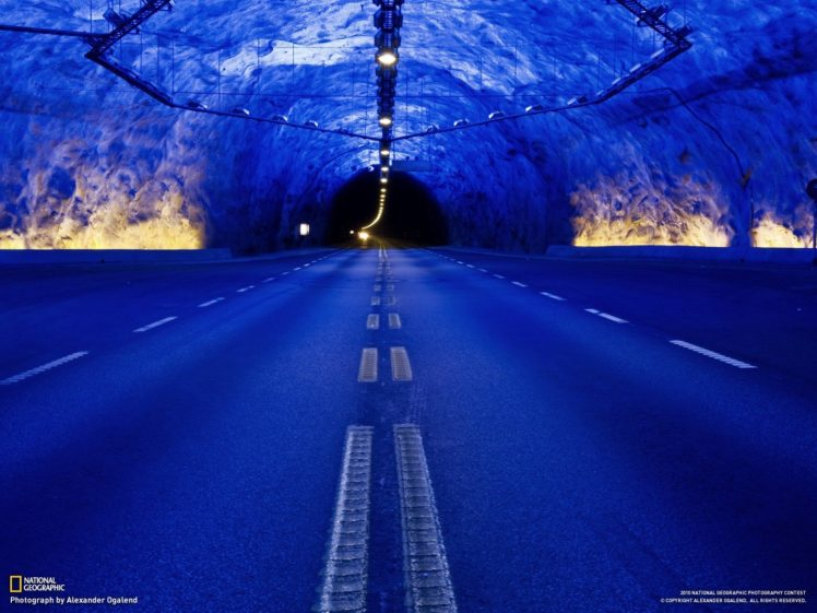 road, National Geographic, Tunnel HD Wallpaper Desktop Background