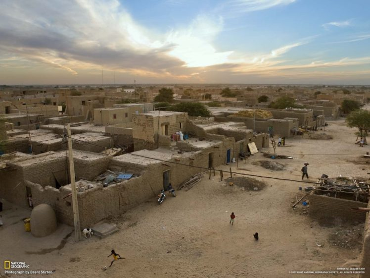 National Geographic, Timbuktu, Children, City HD Wallpaper Desktop Background