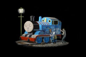 Thomas the Tank Engine, Graffiti