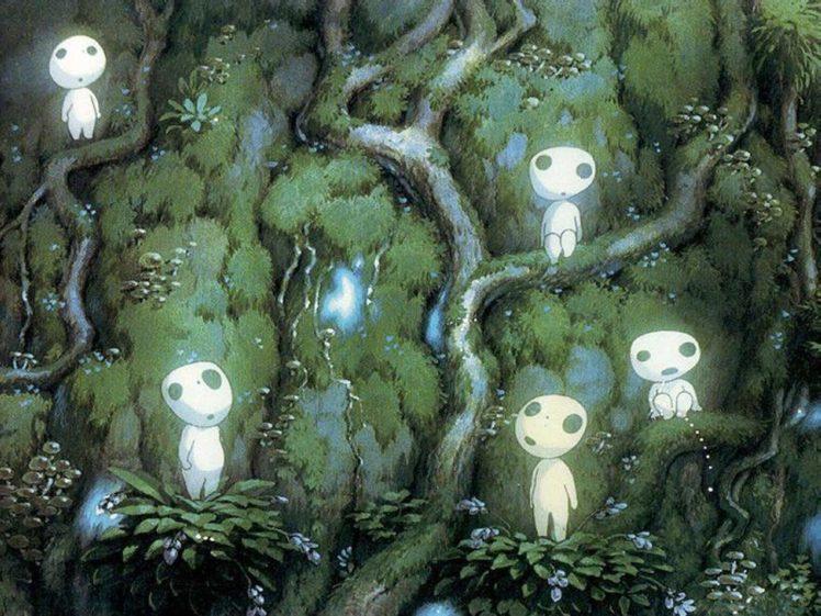 Anime Studio Ghibli Princess Mononoke Hd Wallpapers Desktop And Mobile Images Photos