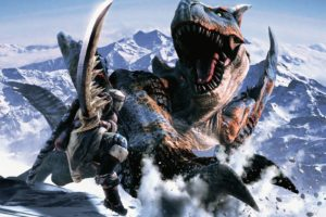 creature, Dinosaurs, Mountain, Monster Hunter