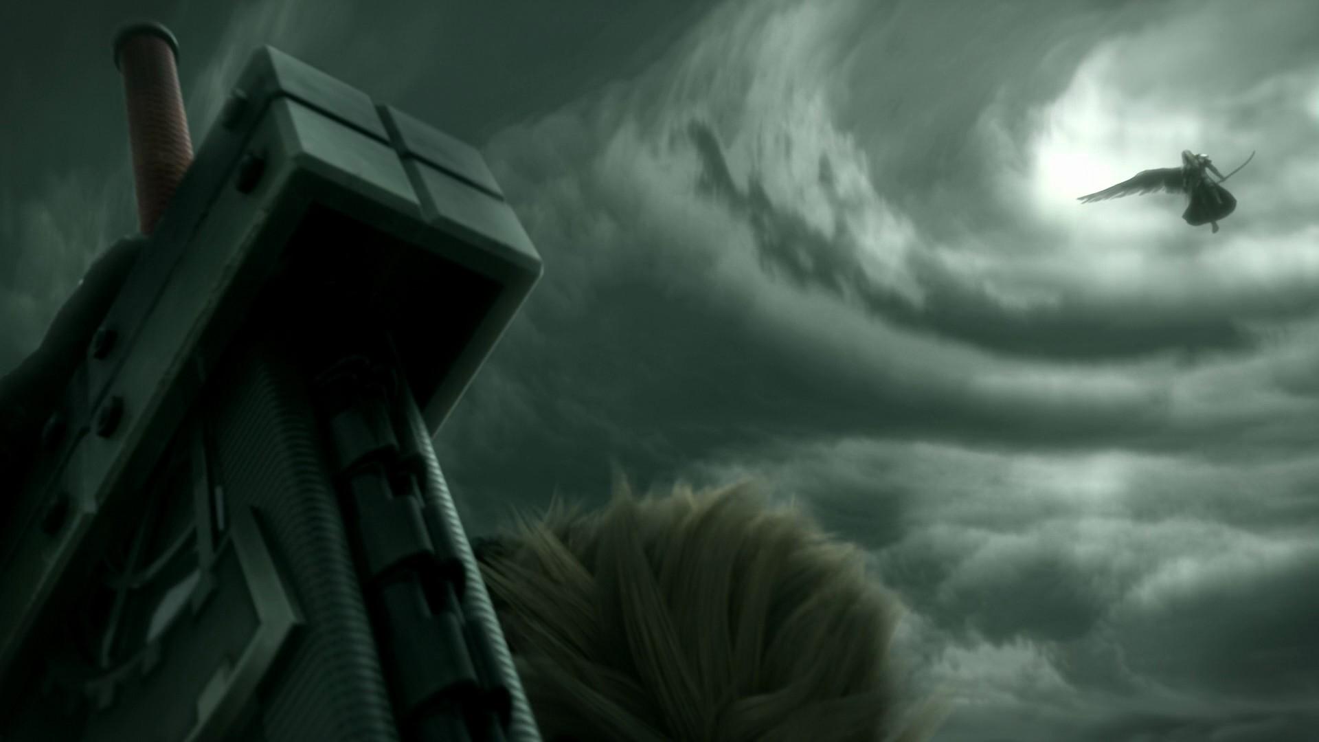 Final Fantasy 7 Advent Children Cloud Strife Sephiroth Hd