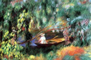 painting, Pierre Auguste Renoir, Boat, Classic art
