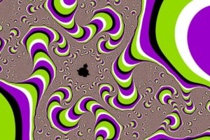 optical illusion, Fractal
