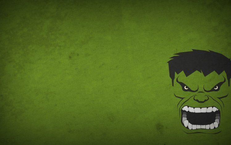 Hulk Green Background Blo0p Minimalism Superhero Green Hd