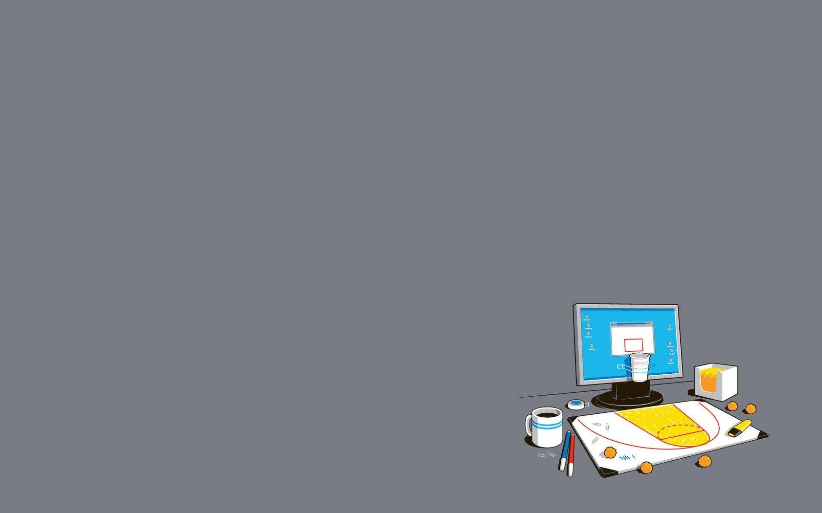 minimalism, Computer, Coffee HD Wallpapers / Desktop and ...