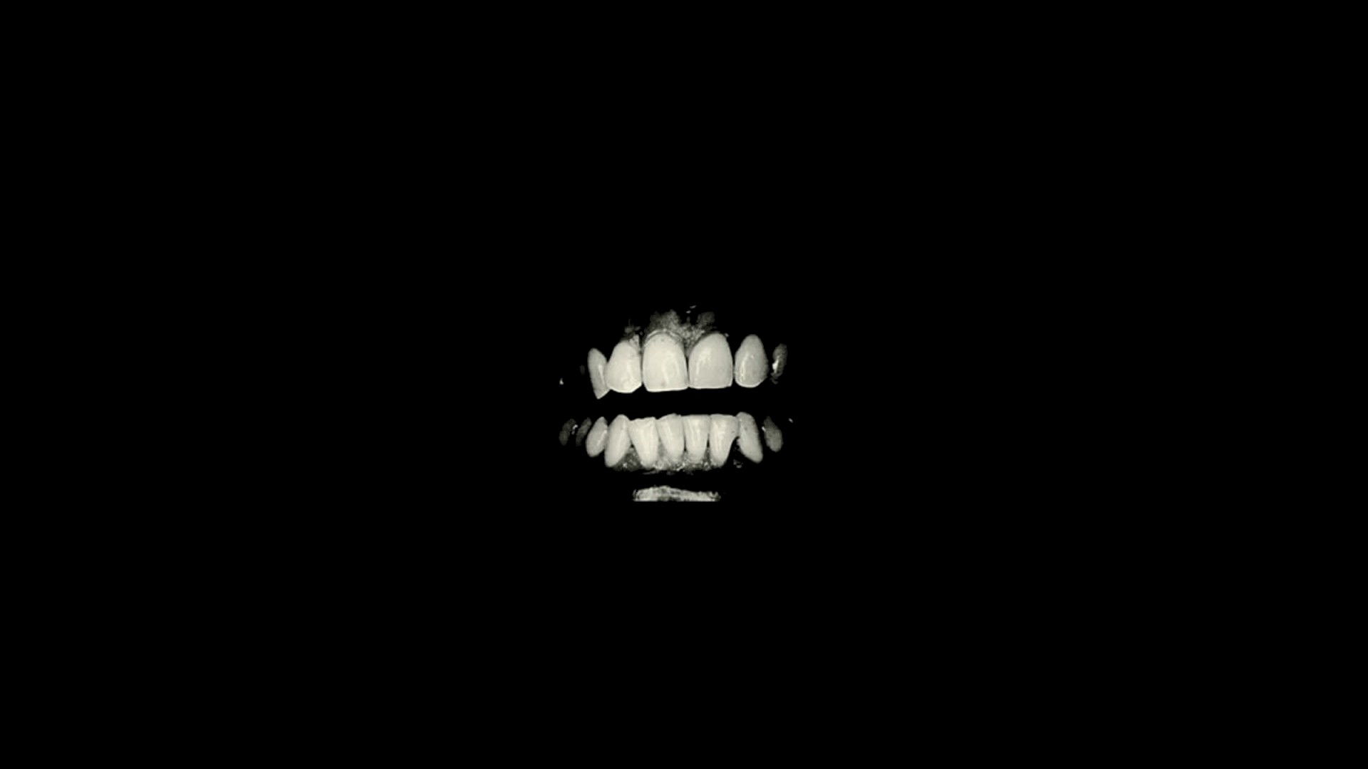 Teeth black background simple hd wallpapers desktop - Black and white hd wallpapers black background ...