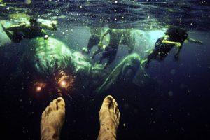 Adobe Photoshop, Photoshopped, Swimming, Demon