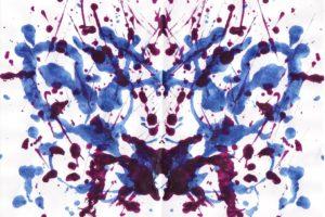 Rorschach test, Symmetry, Ink, Paint splatter