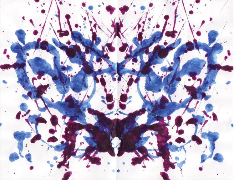 Rorschach test, Symmetry, Ink, Paint splatter HD Wallpapers