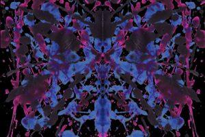 Rorschach test, Paint splatter, Ink, Symmetry