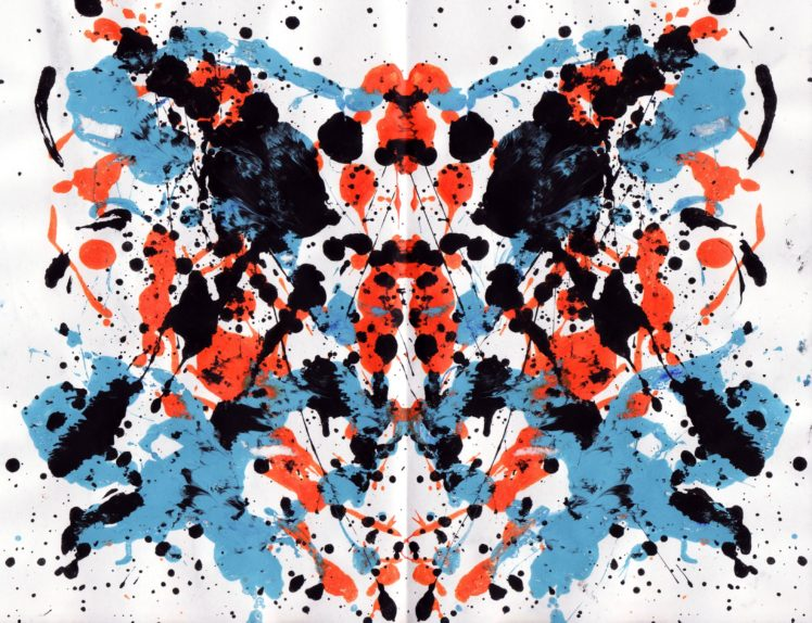 Symmetry, Rorschach test HD Wallpapers