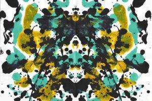 ink, Paint splatter, Symmetry, Rorschach test