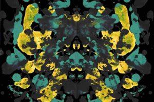 Rorschach test, Ink, Paint splatter, Symmetry