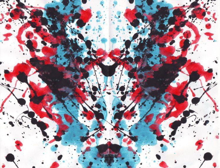Ink Paint Splatter Symmetry Rorschach Test Hd Wallpapers Desktop And Mobile Images Photos