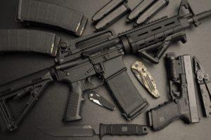 gun, Ammunition, Knife, Assault rifle, Pistol, Glock, AR 15