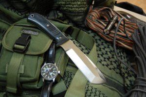 knife, Watch