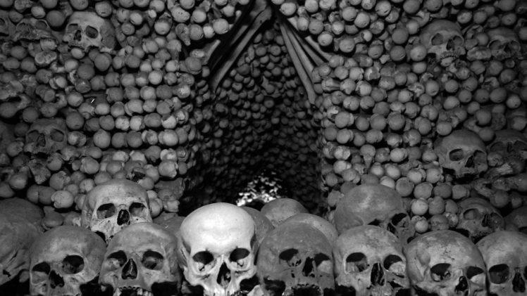 Skull Bones Czech Republic Monochrome Hd Wallpapers Desktop And