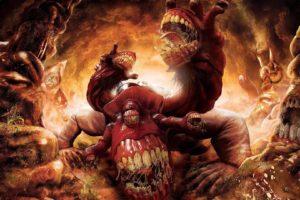creature, Dantes Inferno, Gluttony
