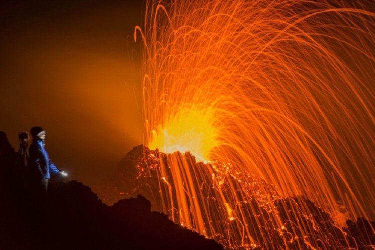 fire, Lava, Photography HD Wallpaper Desktop Background