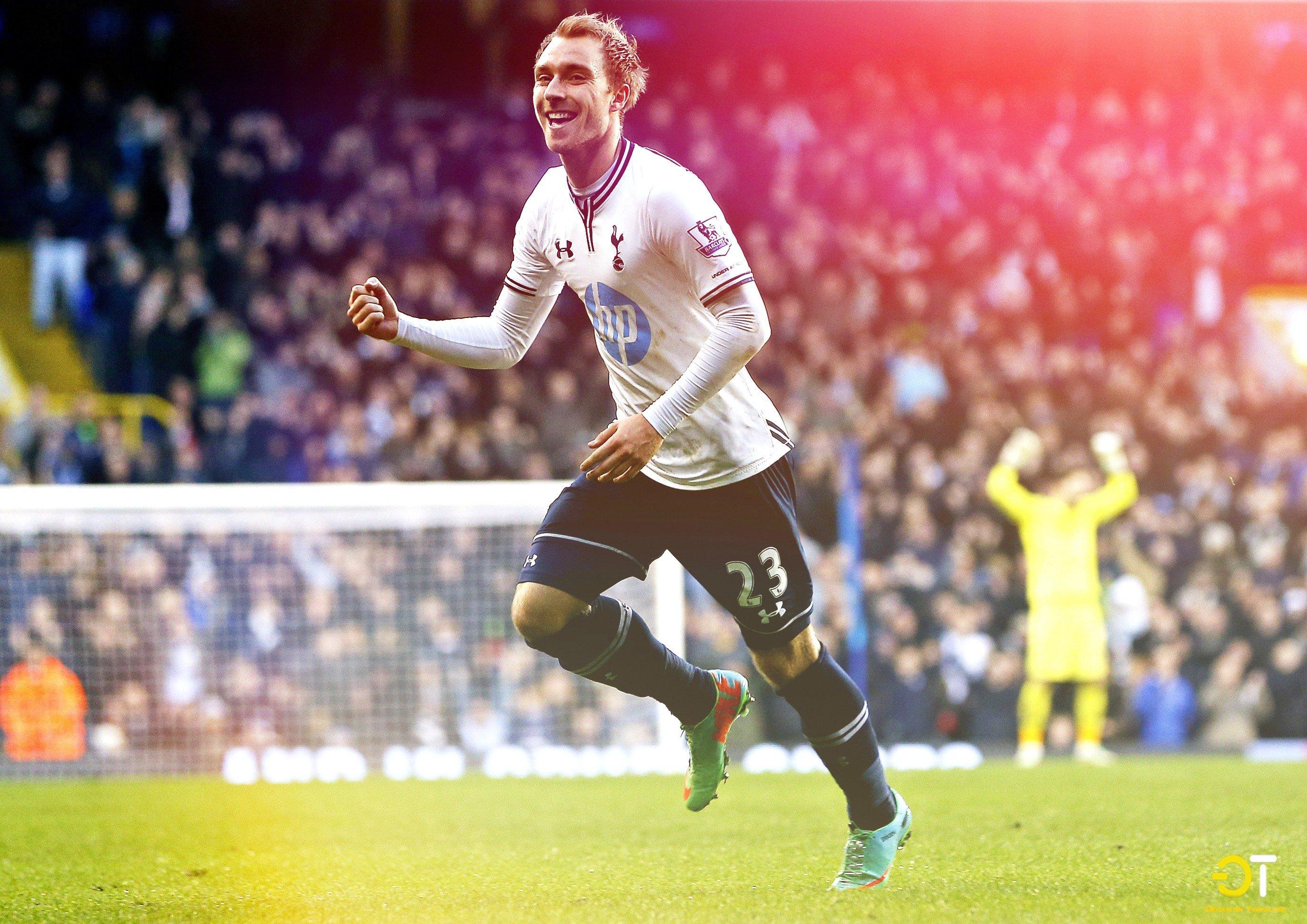 Christian Eriksen, Spurs, Tottenham Hotspur HD Wallpapers
