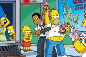 The Simpsons, Marge Simpson, Maggie Simpson, Bart Simpson, Lisa Simpson, Homer Simpson