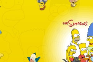 The Simpsons, Homer Simpson, Marge Simpson, Bart Simpson, Lisa Simpson, Maggie Simpson