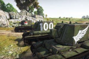 KV 2, War Thunder