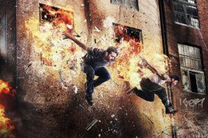 explosion, Parkour, David Belle