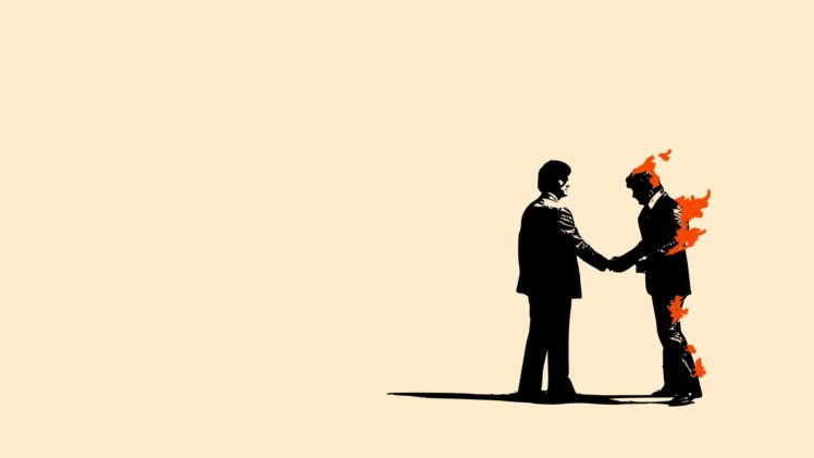 Pink Floyd Wish You Were Here HD Wallpaper Desktop Background