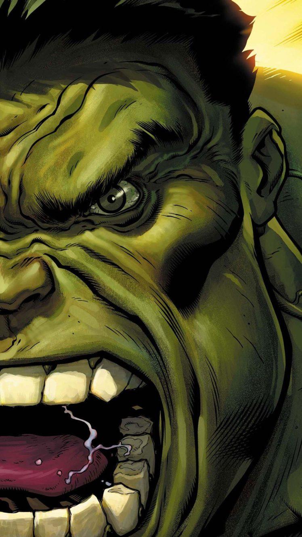 The Incredible Hulk Green Eyes Angry Hulk Comic Books Hd