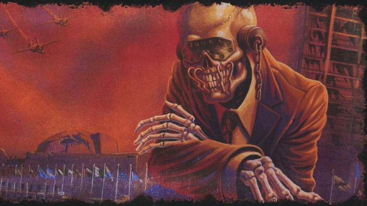 Megadeth Band Vic Rattlehead Thrash Metal Big 4 Heavy
