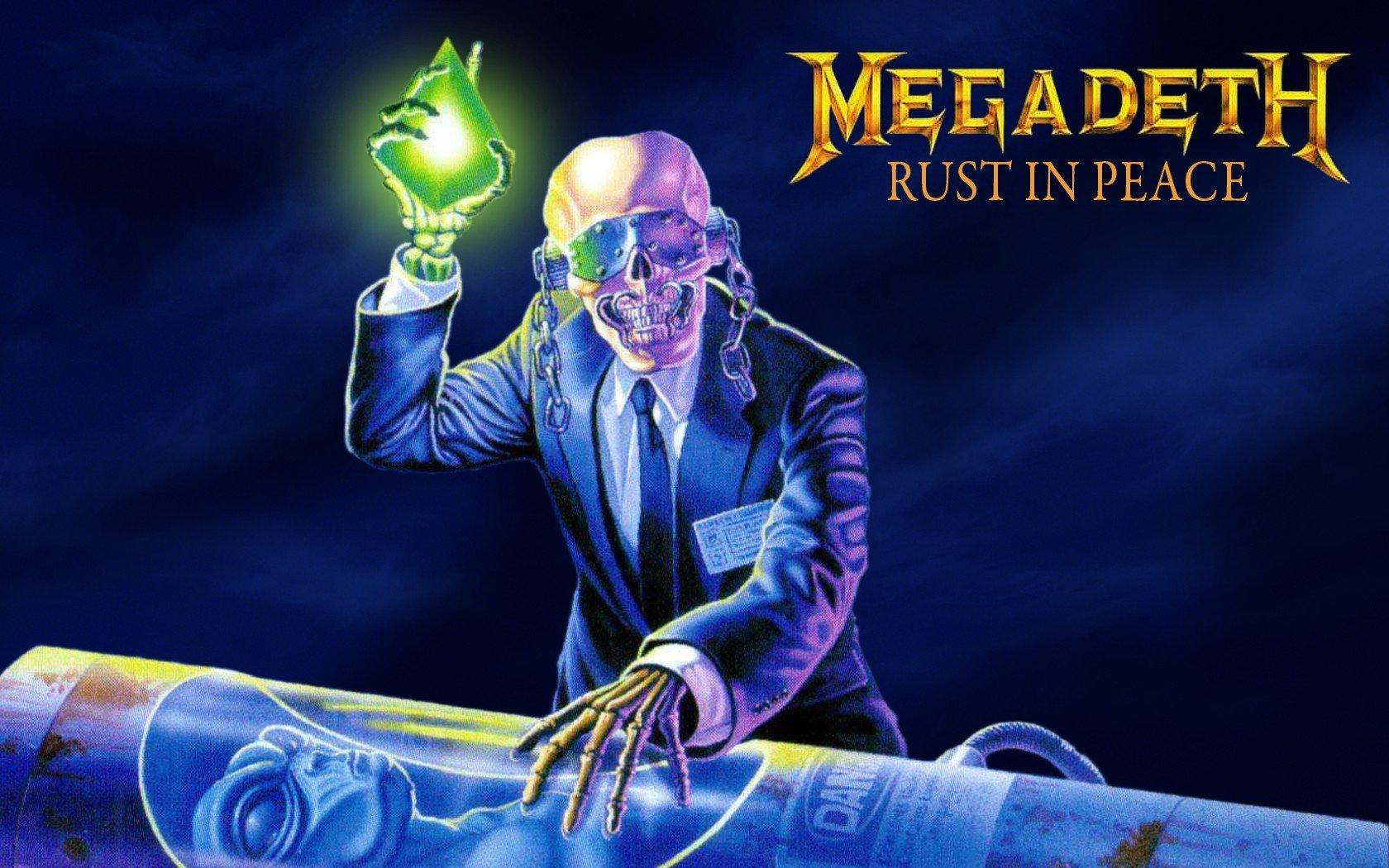 Rust In Peace Vic Rattlehead Megadeth Thrash Metal Big 4