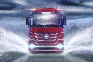 euro truck simulator, SCS Software, Trucks