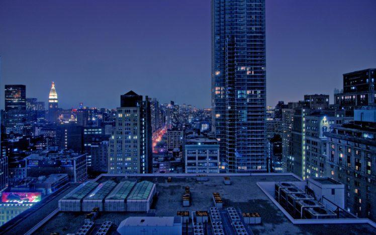 cityscape, Night, Skyscraper, Building, City, Lights HD Wallpaper Desktop Background
