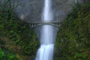 waterfall, Bridge