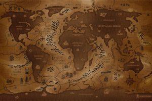 world map, Map, Inverted, Vladstudio, History