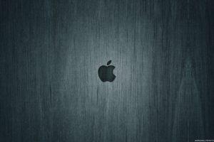 grunge, Apple Inc., Wooden surface