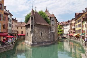 France, Canal, Annecy
