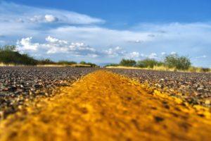 road, Gravel