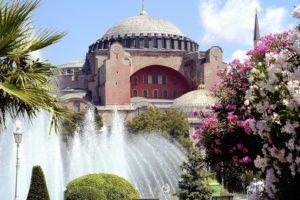 Aya Sofya, Istanbul, Fountain