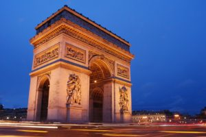 Paris, Monuments, Arc de Triomphe, Arch, Architecture