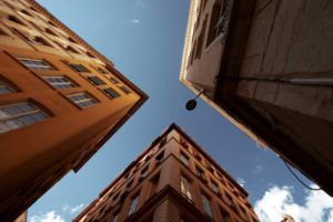 photography, Urban exploration, Worms eye view