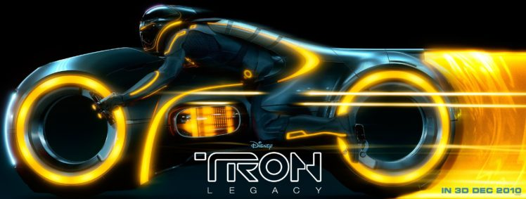 Tron Legacy Light Cycle HD Wallpaper Desktop Background