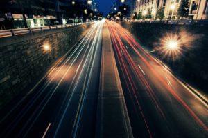 city, Long exposure, Walls, Lights, Urban, Light trails