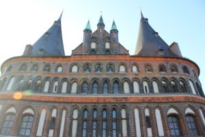 Germany, Lübeck, Architecture, Building, Lens flare