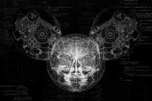deadmau5, Skull, Code, Gears, Helmet, X rays