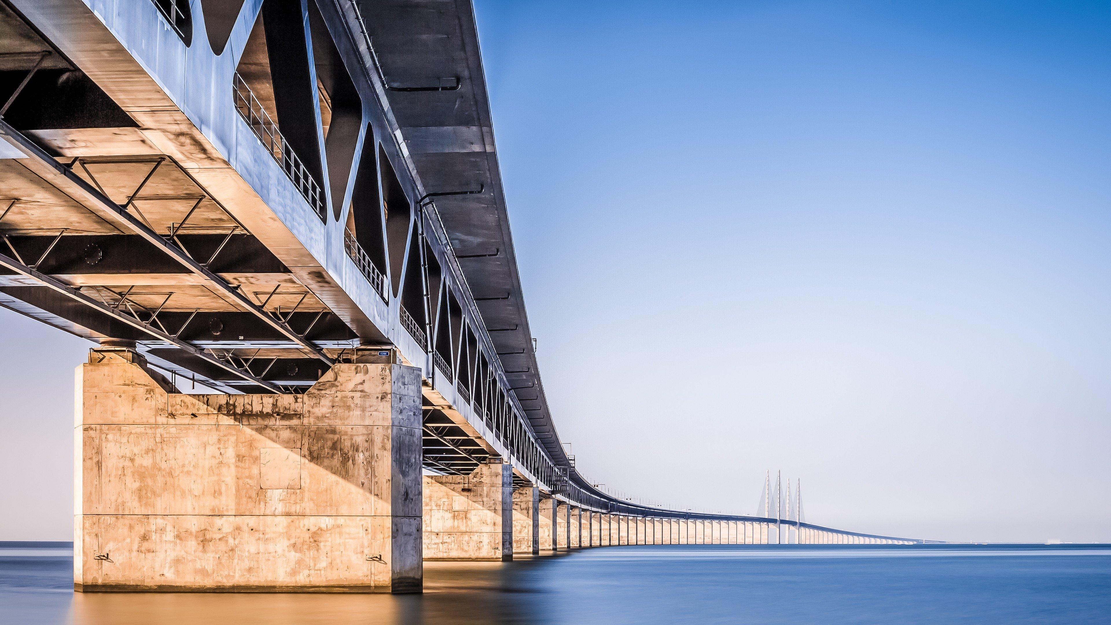 Bridge oresund bridge hd wallpapers desktop and mobile - Bridge wallpaper hd ...