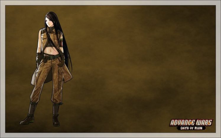 advance wars days of ruins lin hd wallpapers desktop and mobile