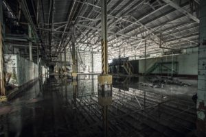 urban exploration, Indoors
